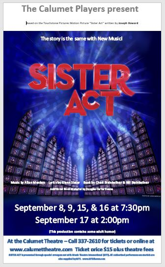 Calumet Players presents SISTER ACT