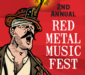 2nd Annual Red Metal Music Fest- Live Stream on Facebook